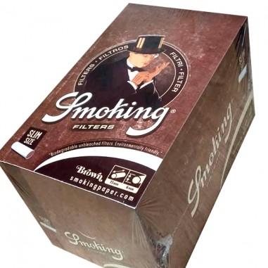 FILTRO LONG BROWN 10 x 100u SMOKING